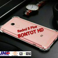 Xiaomi Redmi 5 Plus / 5+ Casing Anti Crack Softcase Clear Jelly Case
