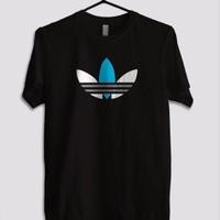 kaos t-shirt kaos pria big size 3xl 4xl ADIDAS