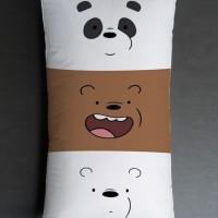 Bantal Sofa / bantal dekorasi We Bare Bears - Face Expreression