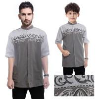 Couple Atasan Baju Muslim Ivan Koko Kemeja Batik Anak Dan Ayah