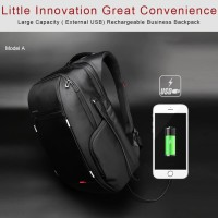 Kingsons Tas Ransel backpack bodypack anti theft usb charger port