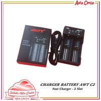 Charger AWT C2 2A USB Battery [Authentic]