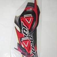 Stiker Bodi & Lis Body & Striping Beat 2010 Hitam