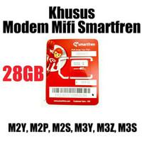 perdana internet smartfren 28 GB KHUSUS MODEM