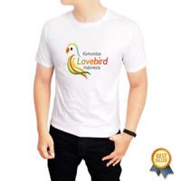Kaos Baju Tshirt Komunitas Burung Love bird indonesia
