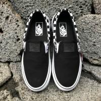 Sepatu Vans Slip On X Thrasher Black Checkerboard ICC BNIB Original