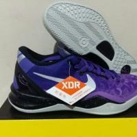 sepatu basket nike kobe 8 low gradient purple