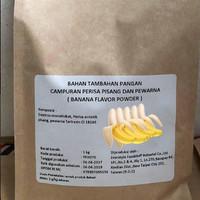 Banana Flavour Powder 100gr / Perisa bubuk rasa pisang
