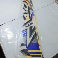 Stiker Body & Lis Bodi & Striping Mio J 2013 Teen Putih Biru