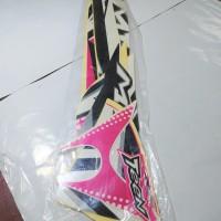 Stiker Body & Lis Bodi & Striping Mio J 2013 Teen Pink