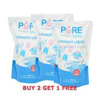 Pure Baby Laundry 700 ml / detergent cuci baju bayi / sabun cuci baju