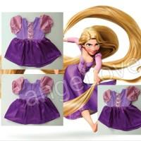 Baju Bayi / Dress Anak Princess RAPUNZEL