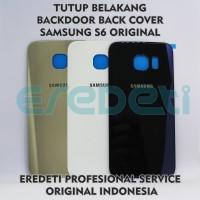 TUTUP BELAKANG BACKDOOR BACK COVER SAMSUNG S6 ORIGINAL KD-002564 - BLUE