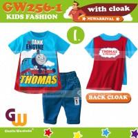 GW256-I - Baju / Kaos Setelan Anak - Thomas & Friends 8T-13T