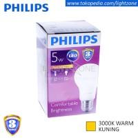 Lampu LED Philips Kuning Warm White 5W 5 W Watt 5Watt