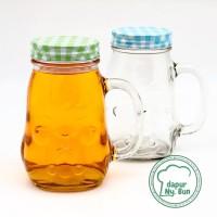 Drinking Jar AYAM / Gelas Toples AYAM / Gelas Kaca
