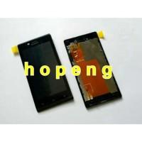 Sony Xperia J ST26i LCD + Touchscreen + Frame Fullset .