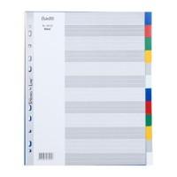 Maxi Divider & Index PP 6032 A4 maxi 12 pages divider pp Bante