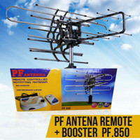 Anten TV Digital / Analog Outdoor / Luar + Remote + Booster PF 850