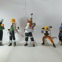 action figure naruto isi 5 set