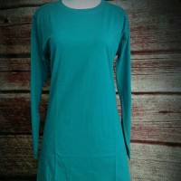 XXXL Baju Kaos Polos Wanita Muslimah Hijaber Big Size Jumbo XXXL