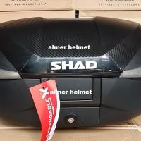 SHAD SH58X Carbon Cover Box Motor - Black