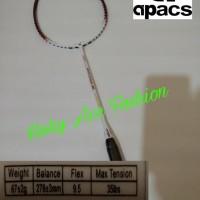 RAKET BADMINTON APACS SENSUOUS 555 WHITE ORIGINAL