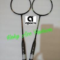 Raket Badminton Apacs Sensuous 10 ( 100%original , max tens: 38Lbs )
