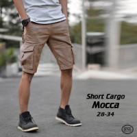 Celana Kargo Pendek moka   Mocca   Krem   Gunung   Cargo   Vans