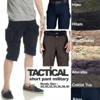 Celana pendek taktikal cargo tactical outdoor gunung blackhawk army