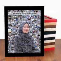 MOZAIK FOTO UKURAN A4 / KADO ULANG TAHUN