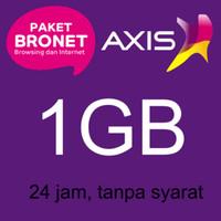 Kartu Perdana Axis 1GB 24jam (Reguler) 2bulan