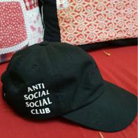 ASSC Cap Black Mirror Version Black Anti Social Social Club