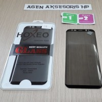 Tempered Glass Anti SPY CURVE Samsung S8 G950F 5.8 inchi FULL LAYAR