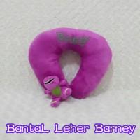 bantal Leher / bantal kepala barney
