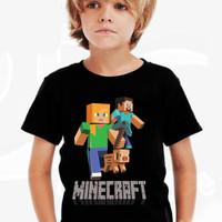Kaos Baju Tshirt Anak Minecraft 01