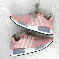 sepatu sneakers adidas nmd r1 Vapor Pink premium grade ori women cewek