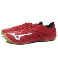 Sepatu Futsal Mizuno Basara 103 Sala (True Red/Silver)