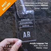 Auckland Luggage Tag / Bag Tag / Bisa Custom