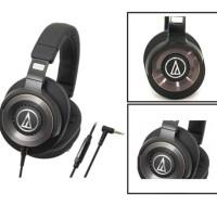 terbaru/ Audio Technica ATH WS1100iS Solid Bass Hi-Res Over-Ear Headph