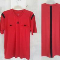 Baju Wasit Leher V PD14 Sepakbola / Futsal Adidas ( MERAH )