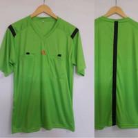 Baju Wasit Leher V PD14 Sepakbola / Futsal Adidas ( HIJAU )