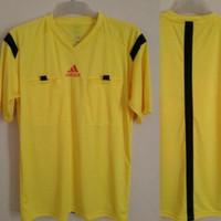 Baju Wasit Leher V PD14 Sepakbola / Futsal Adidas ( KUNING )