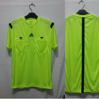 Baju Wasit Leher V PD14 Sepakbola / Futsal Adidas ( STABILO)