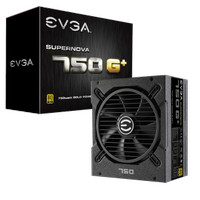 EVGA SuperNOVA 750 G+ 80 Plus Gold 750W Fully Modular 120-GP-0750-X1