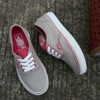 Vans Authentic Multipop Grey Pink - Vans Classic Sepatu Vans Wanita