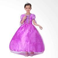 Baju Anak Dress Kostum Princess Rapunzel PROMO AWAL BULAN