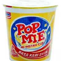 Pop Mie Kari Ayam isi 75gr