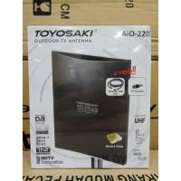 Antena TV Digital Toyosaki Aio-220 DVB STB Set Top Box Outdoor Indoor