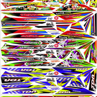 striping decal mio sporty racing
